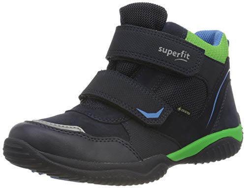 Superfit Jungen Storm Sneaker, Blau Grün 8000, 41 EU