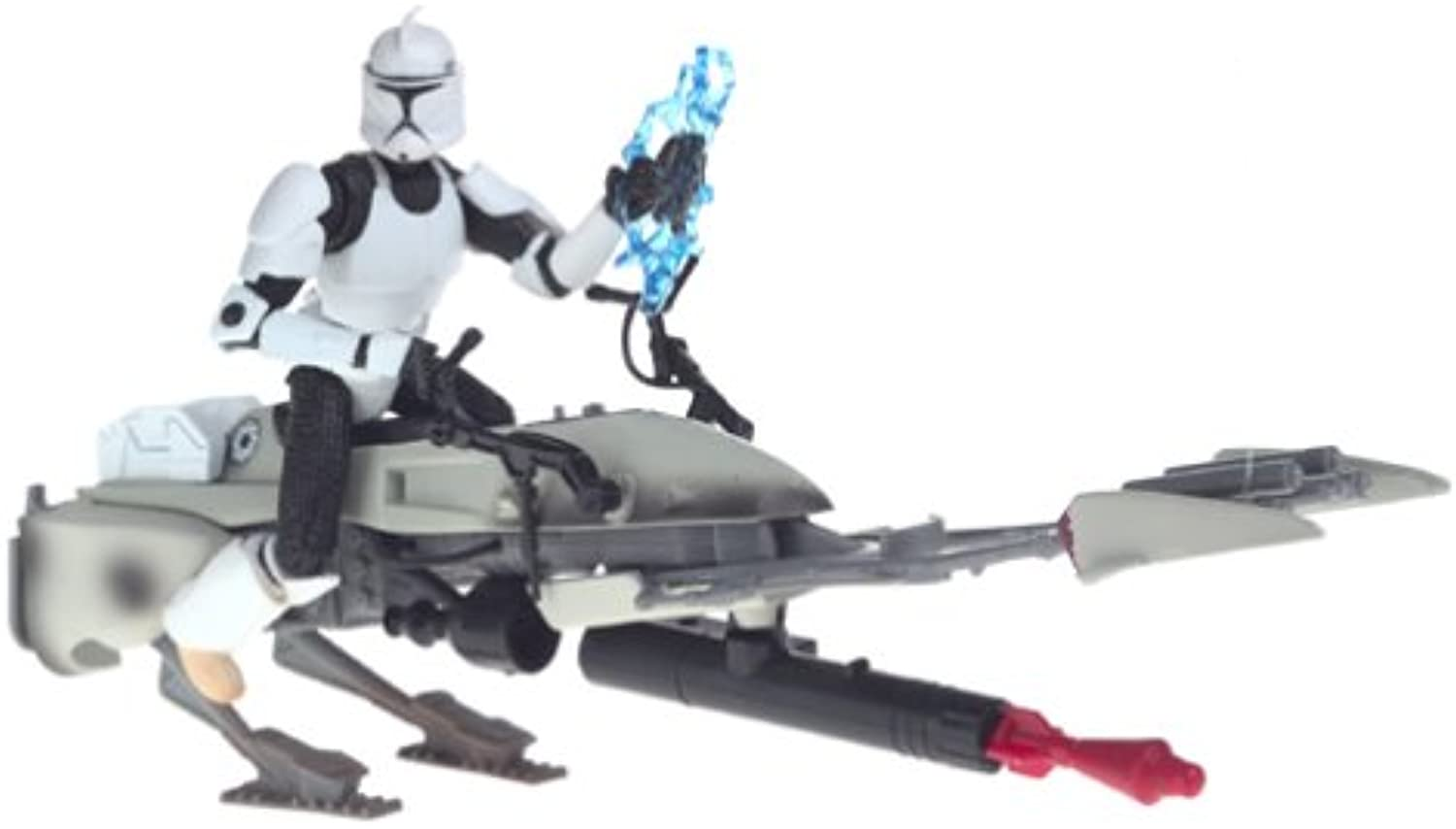 Hasbro Army of the Republic Star Wars Clone Trooper with Speeder Bike
