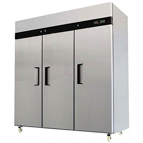 Amazon Com 3 Door Stainless Steel Freezer Commercial Freezer Mbf 8003 Appliances