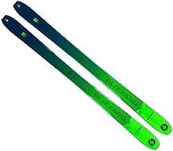 Blizzard Men's Zero G 95 Backcountry Touring Lightweight Skis, Green/Blue, 171 cm
