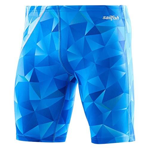 Sailfish Herren Badehose Square Blue, Blau (viereckig), xxl