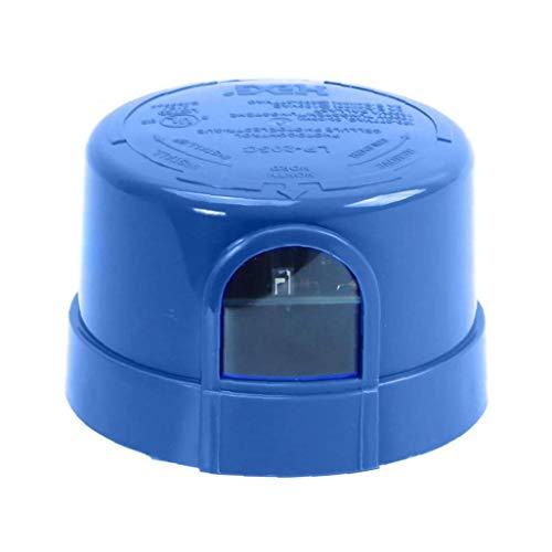 Fotocélula fotocélula Automóvil del sensor carrera con bloqueo de JL-205C Twist, para un LED calle Granero Aparcamiento Area del Lote Light Blue