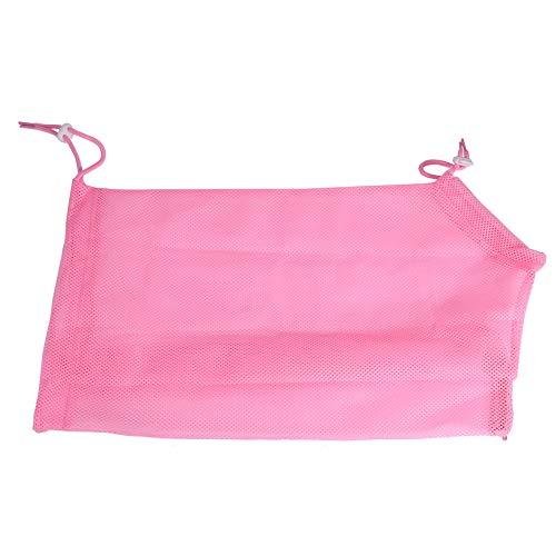 BYARSS Bolsa de baño para Mascotas de sujeción, 5 Colores Bolsa de sujeción Multifuncional para el Aseo de Gatos y Mascotas para Limpieza de Corte de uñas de baño(Rosado)