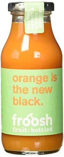 bester der welt Veganer Frosch Shake von Orange, Karotte, Ingwer, 3 Päckchen (3 x 250 ml) 2021