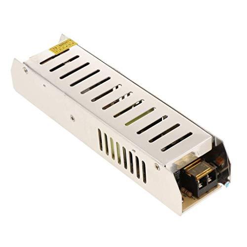 outingStarcase Transformador Interruptor del Adaptador de Fuente de alimentación DC 12V 10A 120W for la Tira de luz LED Herramientas industriales