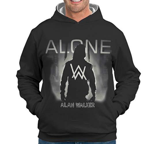 YxueSond Mens Fashion Sweatshirts Hoodies Alan Walker Fit Pullover Für Mädchen White l