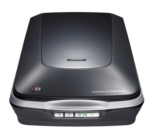 : Epson Perfection V500 Photo Scanner/ 4800 x 9600 dpi : Computer Scanners