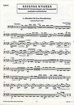 Album Foglie–arrangiamento per violoncello [Note musicali/holzweißig] Compositore: Wagner Richard