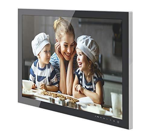 DYON Culina (23,8 Zoll) Küchenfernseher (Triple Tuner (DVB-C/-S2/T2), USB-Anschluss für Wiedergabe)