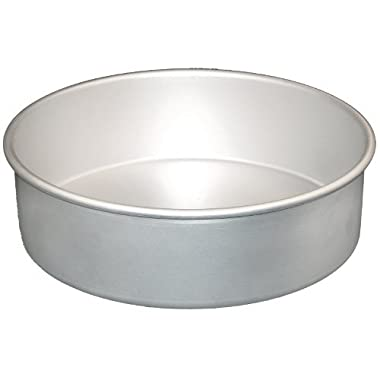 Fat Daddio's Anodized Aluminum Round Cake Pan, 8-Inch x 2-Inch (PRD-82)