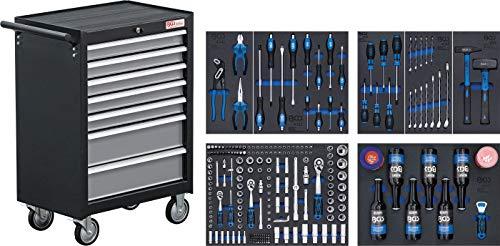 BGS 4069 | Werkstattwagen | 7 Schubladen | mit 227 Werkzeugen