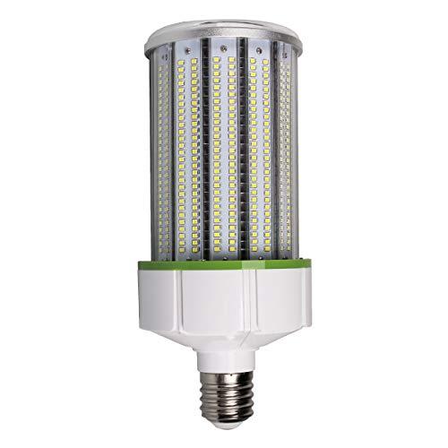 Lighting EVER Bombilla LED E40 100W, bombilla de maíz blanco frío 5000K 13000 lumen, ángulo de haz de 360 °, corresponde a tubos fluorescentes de 200W
