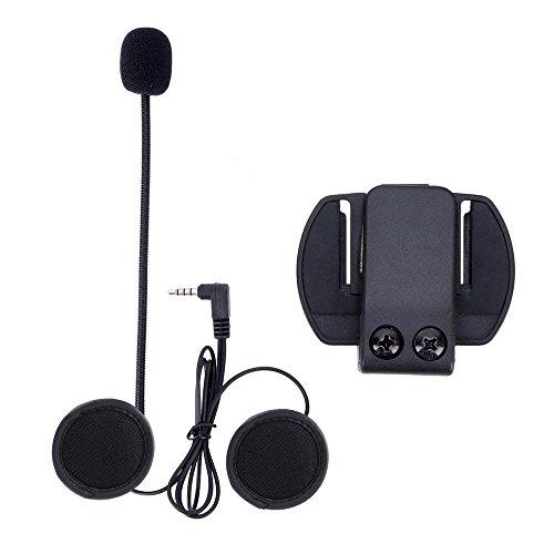 EJEAS Micrófono y Clip para Casco de Motocicleta para V4/V6 Motocycle Bluetooth