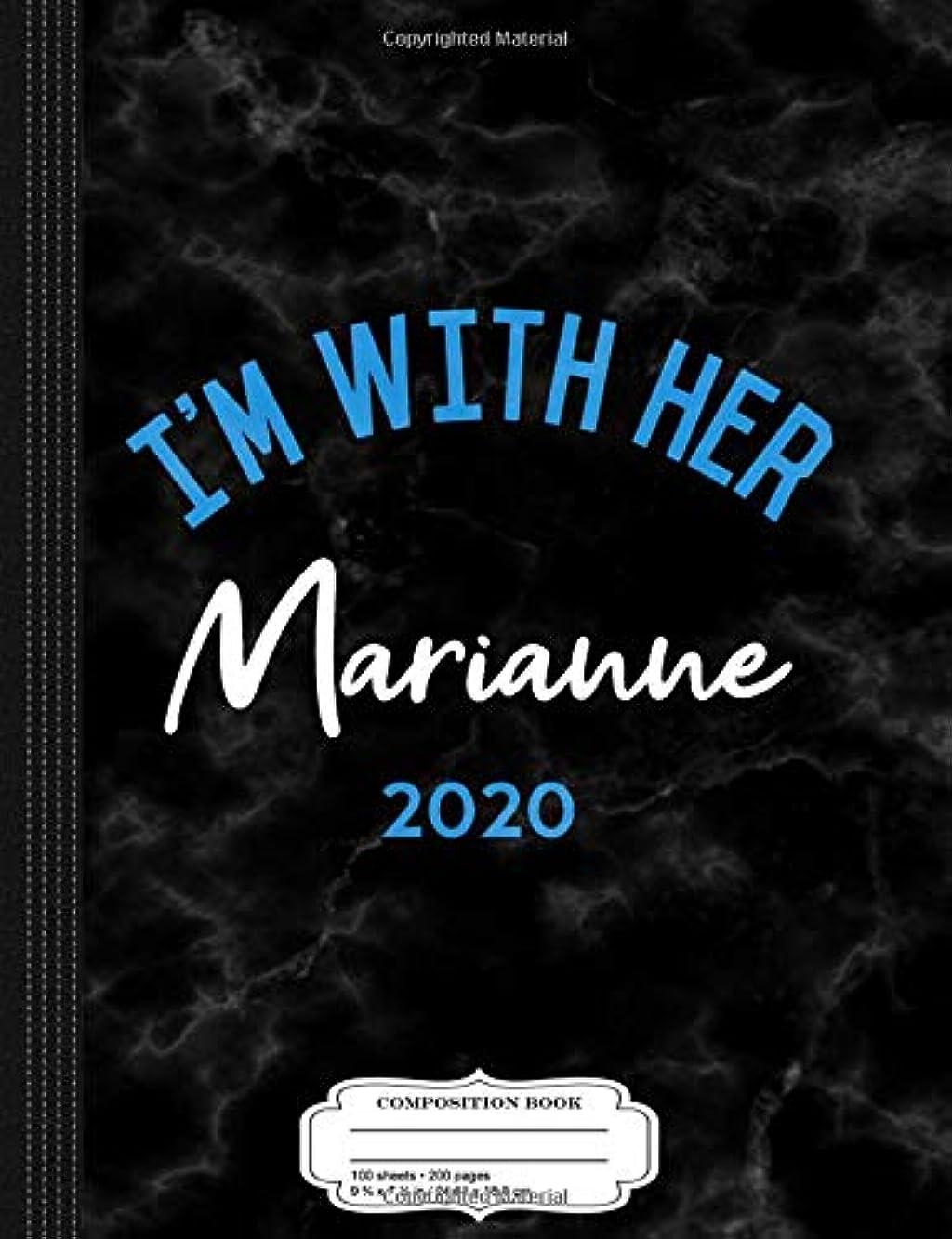 報告書機動シェアI'm With Her Marianne Williamson 2020 Composition Notebook: College Ruled 9? x 7? 100 Sheets 200 Pages For Writing
