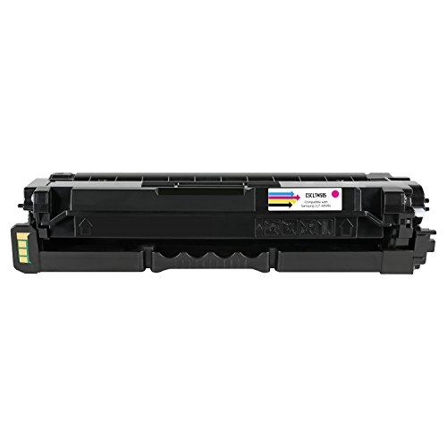 SuppliesOutlet Compatible Toner Cartridge Replacement for Samsung CLT-M505L (Magenta,1 Pack)