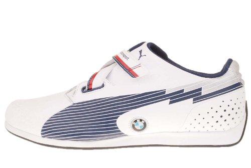 Puma evoSPEED Low BMW 304175 01 Mens Sneakers white-medieval blue, UK 10 / EU 44.5