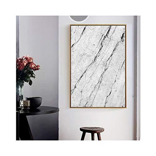 Abstract Grijs Marmeren Vein Canvas Schilderij Poster Print Behang Woonkamer Thuis Muurdecoratie Schilderij