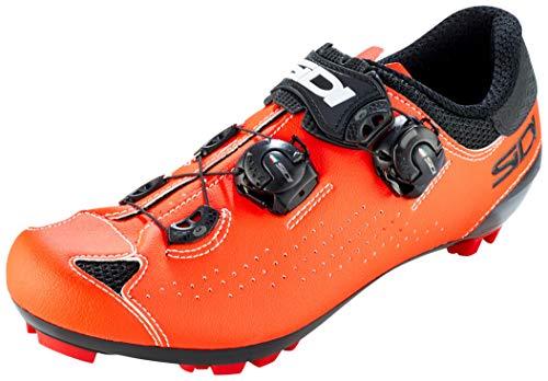 Sidi MTB Eagle 10 Schuhe Herren Black/red Fluo Schuhgröße EU 42,5 2021 Rad-Schuhe Radsport-Schuhe