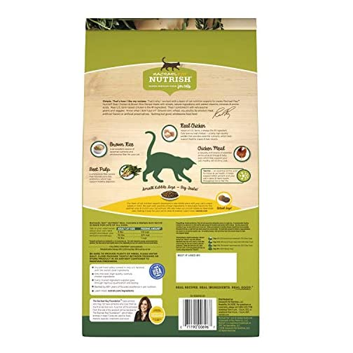 Rachael Ray Nutrish Super Premium Dry Cat Food with Real Meat & Brown Rice 4
