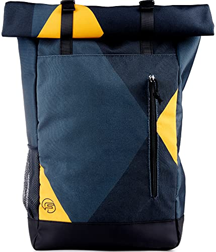 Forrider Rolltop Rucksack - Der Rucksack, der kann was du willst [30L] Verstecktes Laptopf...