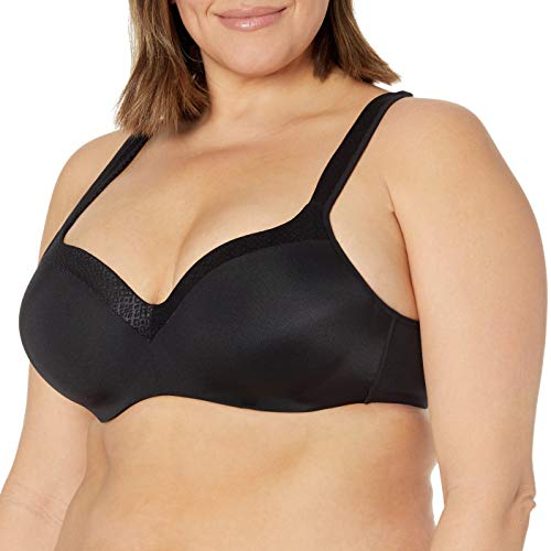 Playtex Love My Curves Original Balconette Underwire Full Coverage Bra #4823, Black, 40G