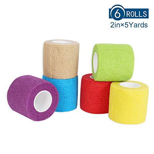 24 selbsthaftende Bandagen flexible Bandage Haftbandage 4,5m x 7.5 cm