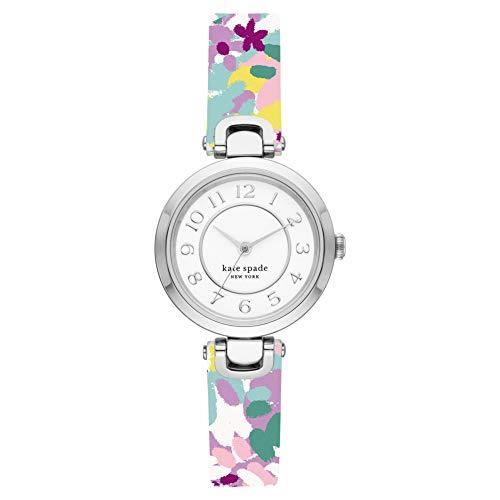 Kate Spade Damen-Uhren Analog Quarz One Size Silber 32013295