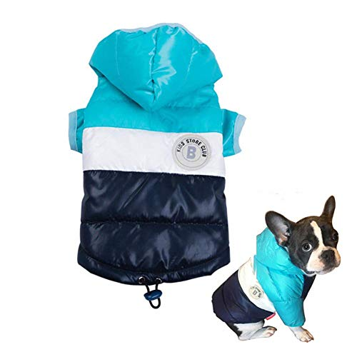 ABRRLO Winter Haustier Hund Mantel Hund Daunen Jacke HundebeKleidung Verdickung 2 Beine warm Ultra Light Puppy Haustier Mode Kleidung
