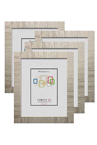 Chely Intermarket, Marco de Fotos 13x18cm MOD-231 (D34) (Pack 4 uds) Estilo galería   Moldura de Madera con Relieve   Decoración del hogar   Fotografías   Listado de Precios (231-13x18-0,30)