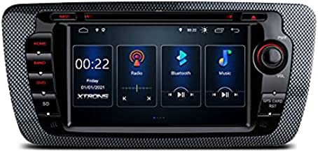 XTRONS Android 10 Car Stereo Radio DVD Player 7 Inch Touch Screen GPS Navigation Built-in DSP Car Auto Play Bluetooth Head Unit Supports Full RCA Output Backup Camera OBD2 DVR TPMS for Seat Ibiza MK4