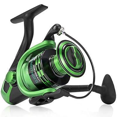 Ghosthorn Spinning Fishing Reel - Carbon Fiber Drag Washers 41.3 Lb Max Drag - Ultra Smooth Powerful Spinning Fishing Reel Stainless Steel BB Freshwater Saltwater