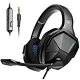 Jeecoo N13 Gaming Headset for PS4 Xbox One PC,...