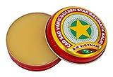 Cao Sao Vang 3 X New Golden Star Balm Vietnam 3g Each/9g Total