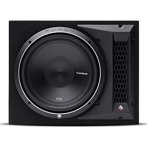 Rockford P2-1X12 Pre-Loaded subwoofer 400W subwoofers para Coche - Subwoofer para Coche (Pre-Loaded subwoofer, 400 W, 800 W, 1 Ω, 30,5 cm (12'), Encerrado)