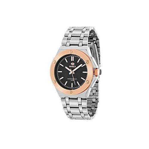 Reloj Marca MAREA Caballero con Acabado Bicolor Modelo B41152/7