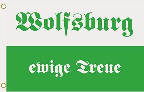 U24 Flagge Fahne Wolfsburg ewige Treue 90 x 150 cm