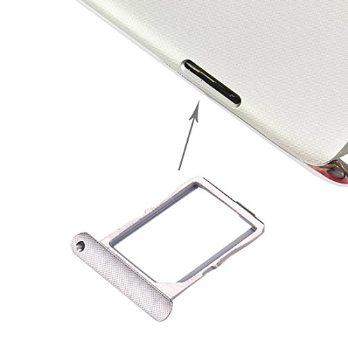 Dmtrab Bandeja de Tarjeta SIM para Lenovo Vibe X / S960 (Plata) Flex Cable (Color : Silver)