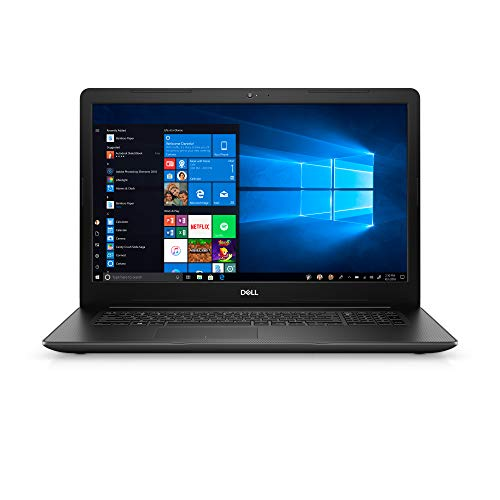 Dell Inspiron 17 3793, i3793-5841BLK-PUS, 10th Generation Intel Core i5-1035G1, 17.3-Inch FHD (1920 X 1080), 8GB x 1 DDR4 2666MHz, 1 TB 5400 RPM, Tray Load DVD Drive