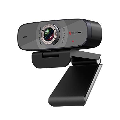1080P Webcam mit Mikrofon Angetube Streaming HD Webkamera 100 Weitwinkelansicht Web Kamera Kompatibel mit Windows Android iOS Linux fur Skype Xbox One Google Meet fur Desktop Computer PC Mac
