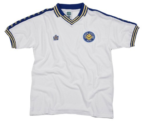 Score Draw Official Retro Leeds United 1978 Trikot Admiral – XL