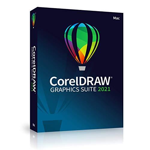 Corel DRAW Graphics Suite 2021 Grafikdesign-Software für Profis   Vektor-Illustration, Layout und Bildbearbeitung   Ewige   [Mac Disc]