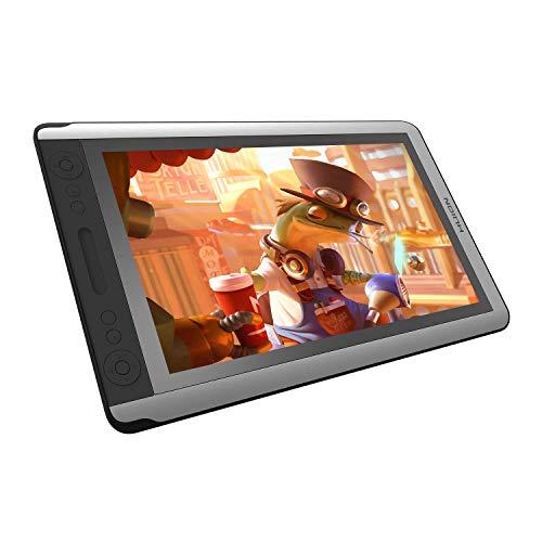 Huion KAMVAS 16 Mesas Digitalizadoras Monitor de Desenho Atualizado Monitor de Caneta Tilt Free Battery 8192 Sensibilidade à Pressão