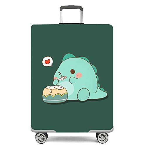 Elastisch Kofferschutz/Kofferhülle/Reisekoffer Hülle/Luggage Cover Zum 18-32 Zoll Gepäckabdeckung.Kratzfeste elastische Hülse,[L] Monster