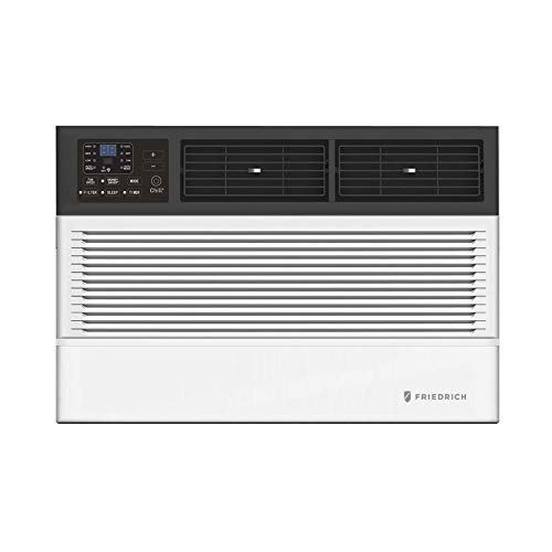 Friedrich CEW08B11A Chill Premier Smart Air Conditioner Window Unit, WiFi Mobile Control, White, Heating & Cooling Capacity (8000 BTU)