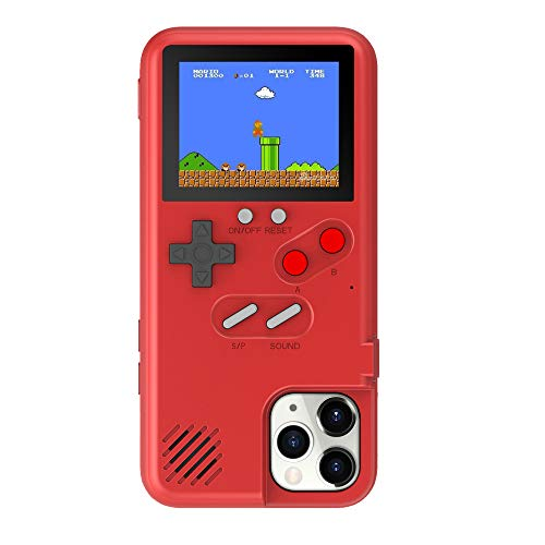 Game Console Case for iPhone 11 Pro Max, Retro Gameboy Case for iPhone, Color Screen Game Phone Case for iPhone 11 Pro Max