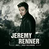 Jeremy Renner 2021-2022 Calendar: Calendar 2021-2022 ,18 months from July 2021 to December 2022 – 8.5 x 8.5 inch High Quality Images
