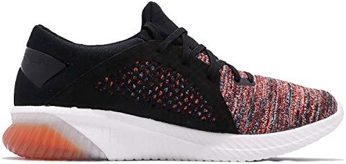 ASICS Men Gel-Kenun Knit Neutral Running Shoe Running Shoes Orange - Black 8