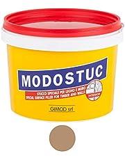 Originele Modostuc houtvuller 1 kg lichte walnoot gebruiksklare vulmassa voor hout en muur, houten plamuurmassa, perfecte kleefbevestiging & sneldrogend, ideaal voor het repareren van houtschade