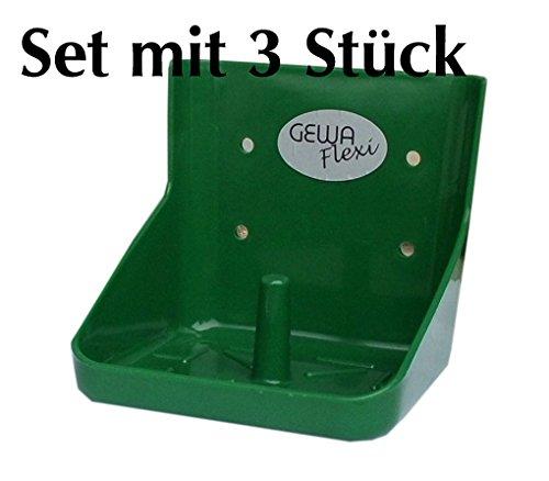 Reitsport Amesbichler Gewa Lecksteinhalter 3 Stück FLEXIbel stabil bruchsicher für 10 kg Lecksteine Lecksteinhalterung