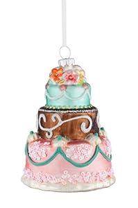 Hänger Cake mit Rosen, grün Gift Company